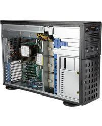 Supermicro Tower/4U Mainstream SuperServer SYS-740P-TRT Dual Socket P+ 8x 3.5'' SAS/SATA 1 M.2 NVMe 1200W RPSU