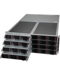 Supermicro 4U 8Node SYS-F610P2-RTN Socket P+ 16 DIMMs AIOM (OCP 3.0 Compliant) 6 or 8 Hot Swap Drives 2.5'' NVME or SAS/SATA 2 M.2 4x2200W