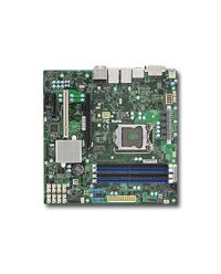 MB Supermicro X11SAE-M UP Xeon® Xeon® E3-1200 v6/v5 (LGA 1151) 4 UDIMM 64GB DDR4 non-ECC 8 SATA3 2 GbE, ALC888S HD Audio, M.2, USB 3.1 micro ATX / C236