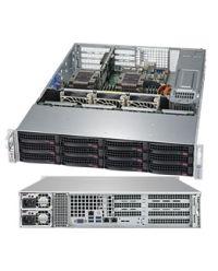 Supermicro 2U WIO 6029P-WTXX DP Scalable Processors 12 DIMM, up to 1.5TB DDR4 12/8x 3.5'', customizable storage 2x 10GBase-T 1200W (Redundant, Titanium)