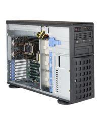 Supermicro 4U GPU 7049P-TR DP Scalable Processors 16 DIMM, up to 2TB DDR4 8x 3.5'' SATA3, 3x 5.25'' 2x 1GbE 1280W (Redundant, Platinum)
