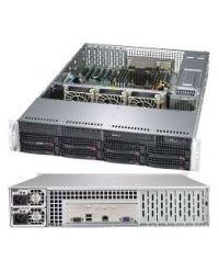 Supermicro 2U 2013S-C0R UP AMD EPYC™ 7000-Series 8 DIMM, up to 1TB DDR4 8x 3.5'' SAS3/SATA3 3008 SAS3 R modev RAID 0, 1, 10 6xPCI-E 3.0 740W (Redundant, Platinum)