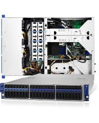 Tyan Transport SX (TN70A-B8026) (16) Front Hot-Swap 2.5'' SATA 6G (8) Front Hot-Swap 2.5'' NVMe Single-Socket Hybrid Storage Server