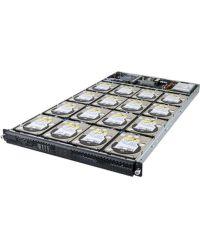 Gigabyte Server D120-C21 UP Xeon D CPU 4 DIMM DDR4 1U 16x 3.5'' HDD 400W PSU 2x10GbE SFP+ 2x1GbE LAN/1xIPMI 1xPCIex16 pre-install CSA323-G (LSI SAS3216 16 ports 12Gb/s)PCI-E 6ND120C21MR-00