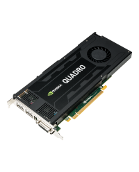 NVIDIA PNY Quadro K4200 4GB GDDR5 PCI-E 2.0 - Active Cooling VCQK4200-BLK