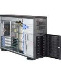 Supermicro Tower / 4U 4023S-TRT DP AMD EPYC™ 7000-Series 16 DIMM, up to 2TB DDR4 8x 3.5'' SAS3/SATA3 2 PCI-E x16 2 PCI-E x8 2x 10GBase-T 1280W (Redundant, Titanium )