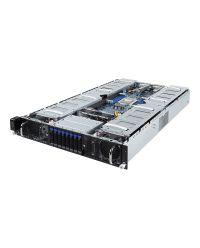 Gigabyte Server G291-Z20 UP EPYC CPU 8 DIMM DDR4 2U 8x 2.5'' HDD 2200W redundant PSU 2x10GbE SFP+/1xIPMI 10x16 (8x16 FHFL + 2x16 LP)PCI-E 6NG291Z20MR-00