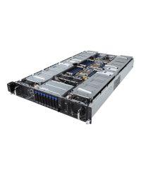 Gigabyte Server G291-280 DP Xeon Scalable CPU 24 DIMM DDR4 2U 8x 2.5'' 2x 2.5'' internal HDD 2200W redundant PSU 2x10GbE/1xIPMI 10x PCIex16PCI-E