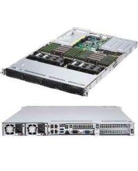 Supermicro 1U 1023US-TR4 DP AMD EPYC™ 7000-Series 32 DIMM, up to 4TB DDR4 4x 3.5'' SAS3/SATA3 2x NVMe/SATA3 4 PCI-E 3.0 4 GbE 2x 1000W (Redundant, Titanium)