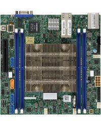 MB Supermicro X11SDV-12C-TLN2F D-2166NT, 12-Cores, 85W Xeon D (SoC) 4 DIMM up to 256GB DDR4 Up to 8 SATA3, RAID 0, 1, 5, 10 (U.2 option) 2 10GBase-T Mini-ITX