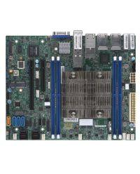 MB Supermicro X11SDV-16C-TP8F D-2183IT, 16-Cores, 100W Xeon D (SoC) 4 DIMM up to 256GB DDR4 Up to 12 SATA3, RAID 0, 1, 5, 10 4 GbE, 2 10GBase-T, 2 10G SFP+ Flex ATX
