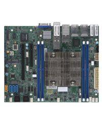 MB Supermicro X11SDV-8C-TP8F D-2146NT, 8-Cores, 80W Xeon D (SoC) 4 DIMM up to 256GB DDR4 Up to 12 SATA3, RAID 0, 1, 5, 10 4 GbE, 2 10GBase-T, 2 10G SFP+ Flex ATX