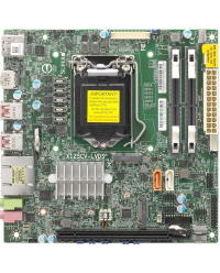 SM MB X12SCV-LVDS, Mini ITX, CometLake PCHW480, LGA1200  ,PCIe x16