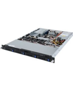 Gigabyte Server G150-B10 UP Xeon D CPU 4 DIMM DDR4 1U 4x 3.5'' HDD 600W PSU 2x10GbE SFP+ 2x1GbE LAN/1xIPMI 1xPCIex16 1xPCIex8PCI-E 6NG150B10MR-00